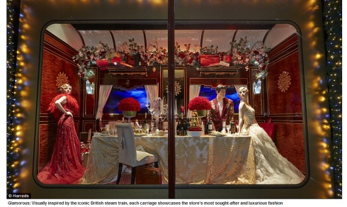 All aboard the Harrods express! First look at luxury store's iconic Christmas 2013 window display  Mail Online - Google Chrome 11252013 83219 AM